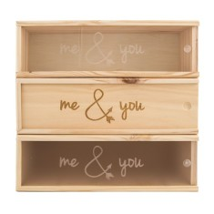 Me & You Wine Box