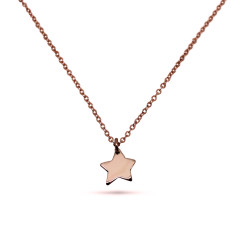 Little Star 9ct Rose or yellow Gold Necklace