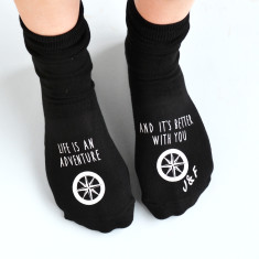 Personalised Adventures Are Better With You Socks