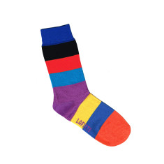 Lafitte kids block pattern socks (various colours)