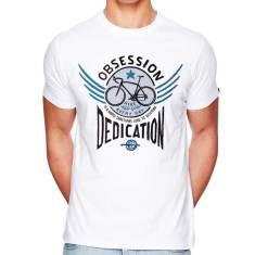 Bike obsession men's t-shirt in white