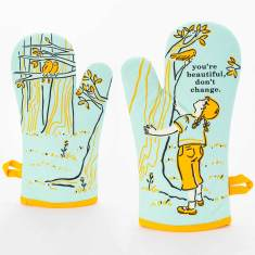 You're Beautiful, Don't Change - Oven Mitt by Blue Q