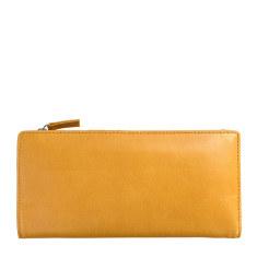 Dakota leather wallet in tan