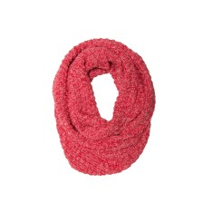 Basket weave knit loop scarf 100% cotton (various colours)