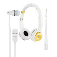 Gold Headphones Lifestyle Pack