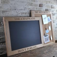 Personalised Oak Chalk Board