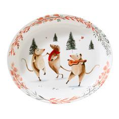 Mouse Dance Melamine Platter