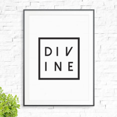 Divine print (various colours)