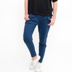 Cotton Lounge Pant in Denim