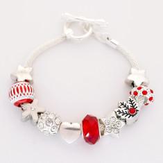 Women's Christmas charm bracelet