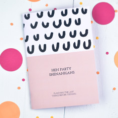 Hen Party Shenanigans Notebook