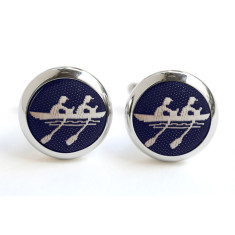 Navy Rowing Cufflinks
