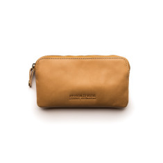 Lucy Classic Collection pouch purse in caramel