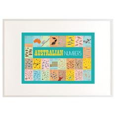 Australian number print