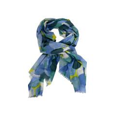 Multi-circles cotton scarf