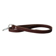 Leather Key Strap/Lanyard In Brick