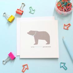 Greatest grandad bear card