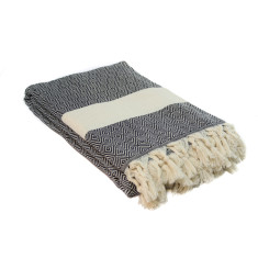 Cotton diamond throw (various colours)