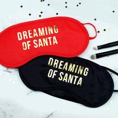 Dreaming of Santa Eye mask