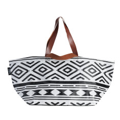 Beach Bag in Tribal print