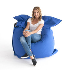 Royal blue bean bag cover
