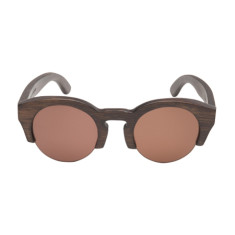 Olive Wooden Kids Sunglasses C2