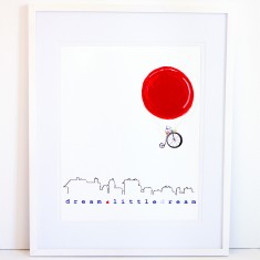 Dream Balloon Print - Dream a Little Dream