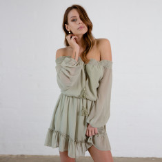 Ophelia off the shoulder dress