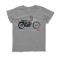 Boys' Yamaha dirt bike classic motorcycle T-shirt