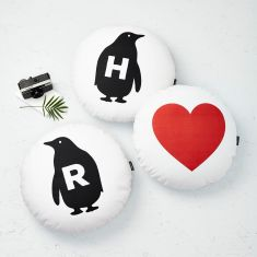 Set Of Three Penguin Cushions