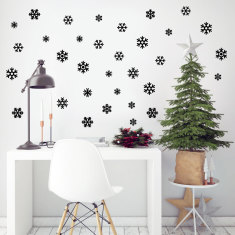 Mini Snowflakes Wall Stickers