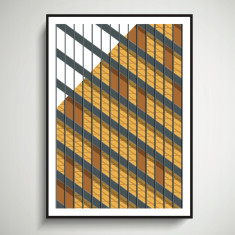 New York Facades - 375 Park Avenue giclee art print