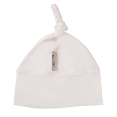 Baby beanie in cream