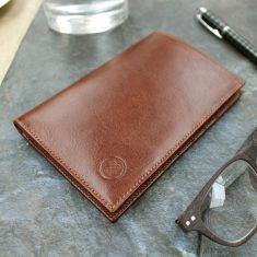 The Pianillo Personalised Leather Breast Pocket/Jacket Wallet