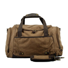 Canvas weekend duffle bag in three colours