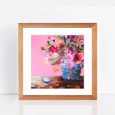 Flowers for Alice limited edition giclee print
