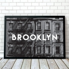 Brooklyn Travel Art Print