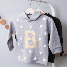 Personalised Initial Children's Hoodie