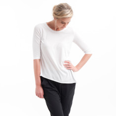 Tuck In Tee in White