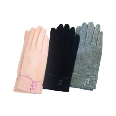 Woollen gloves in assorted colours
