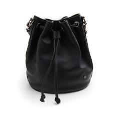 Olivia bucket bag in black