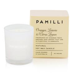 Natural Soy Candle (Italia Range) - Oranges Lemons & Citrus Leaves