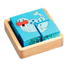 Ocean wooden block puzzle