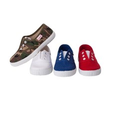 Boys' slip on canvas shoe (various colours)