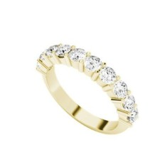 Diamond eternity ring 9 carat yellow gold
