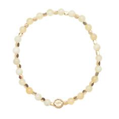 Signature bracelet in yellow opal