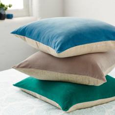 Velvet sky lounge cushion
