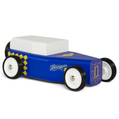 Candylab Harlequin toy car