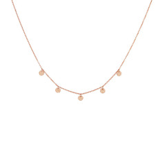 Grace Choker in Rose Gold Plate