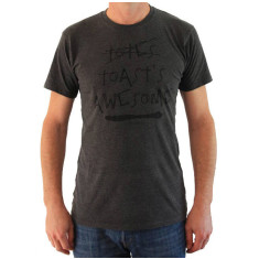 Totes Toasts Aweome men's t-shirt